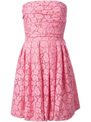 Moschino Cheap And Chic Strapless Lace Dress 60