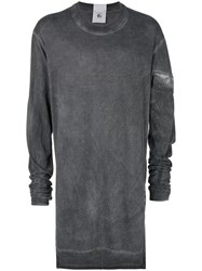 Lost And Found Rooms Oversized Tunic Top Grey