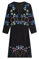 Peter Pilotto Dress With Emroidery Black