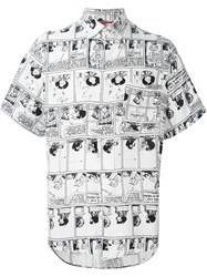 Jc De Castelbajac Vintage Mafalda Comic Strip Shirt White