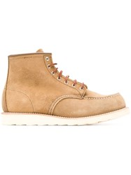 Red Wing Shoes 8881 6 Classic Moc Toe Olive Mohave Boots Brown