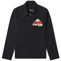 Ebbets Field Flannels Fuji Athletic Club Ground Crew Jacket Black