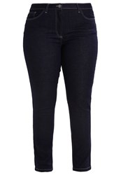 Persona By Marina Rinaldi Iaures Slim Fit Jeans Navy Blue Dark Blue