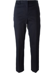 Paul Smith Black Label Cropped Pants Blue