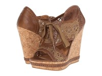 Not Rated Catalonia Tan Women's Wedge Shoes