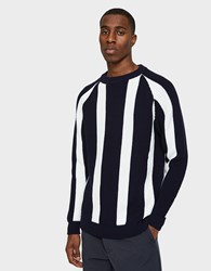 Sunnei Crew Neck With Long Sleeves Stripes