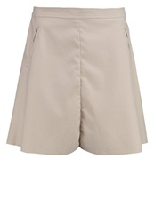 Only Onlfair Mini Skirt Pumice Stone Light Grey