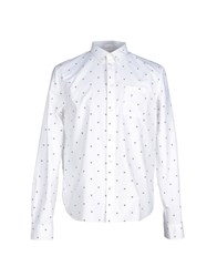 Wood Wood Woodwood Shirts Shirts Men White