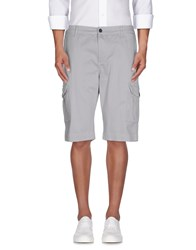 Monkee Genes Trousers Bermuda Shorts Men Grey