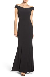 Xscape Evenings Women's Off The Shoulder Stretch Mermaid Gown