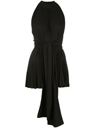 Tome Pleated Top Black
