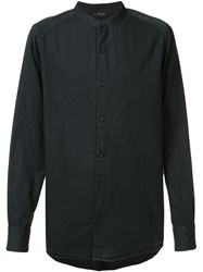 Neuw Band Collar Shirt Black