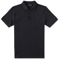 Lanvin L Logo Polo Black