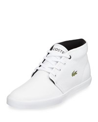 Lacoste Asparta Leather Mid Top Sneaker White