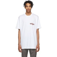 Givenchy White Oversized Scorpio T Shirt