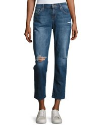 Joe's Jeans Ex Lover Distressed Ankle Blue