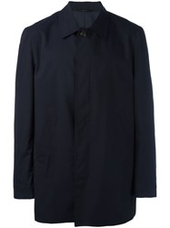 Brioni Shirt Bomber Jacket Blue