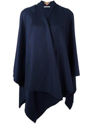 Ermanno Gallamini Wrap Cape Blue