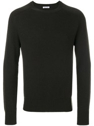 Tomas Maier College Sweater Cashmere Green