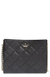 Kate Spade New York 'Emerson Place Mini Convertible Phoebe' Quilted Leather Shoulder Bag Black
