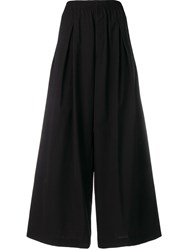 Y 3 Wide Leg Trousers Black