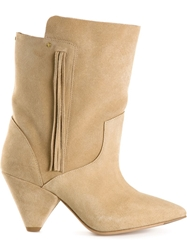 Jerome Dreyfuss 'Bonnie' Boots Nude And Neutrals