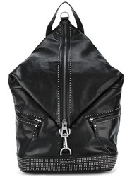 Jimmy Choo Fitzroy Backpack Black