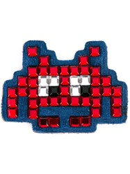 Anya Hindmarch 'Invaders' Mini Sticker Red