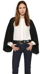 Temperley London Bowery Shrug Black