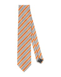 Moschino Accessories Ties Men Light Grey