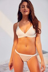Out From Under Carter Mesh Bikini White