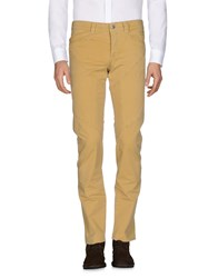 9.2 By Carlo Chionna Casual Pants Ocher