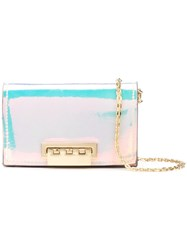 Zac Posen Earthette Chain Card Case Metallic