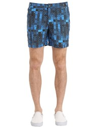 Danward Geometric Printed Nylon Swim Shorts