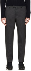 Msgm Grey Slim Cropped Trousers