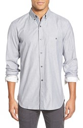Men's French Connection 'Giggs' Trim Fit Long Sleeve Sport Shirt