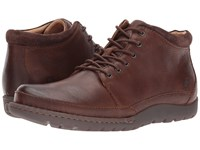 Born Nigel Boot Brown Dark Brown Combo Men's Lace Up Boots