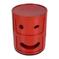 Kartell Componibili Smile Storage Unit Red