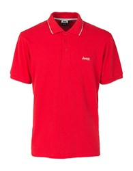 Jeep Athletic Polo Red