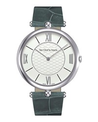 Pierre Arpels White Gold Watch 38Mm Van Cleef And Arpels White Gold