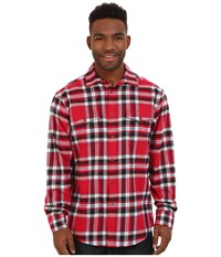 Mountain Khakis Teton Flannel Shirt Cardinal Men's Clothing Red