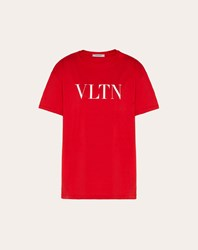 Valentino Vltn T Shirt Red Cotton 100