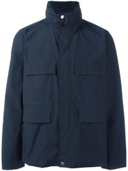 Paul Smith Ps By Shower Proof Field Jacket Blue