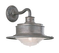 Troy Lighting South Street Outdoor Wall Light Gray