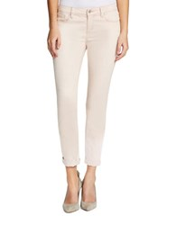 Jessica Simpson Forever Rolled Skinny Jeans Peach