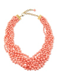 Multi Strand Braided Pearly Necklace St. John Collection
