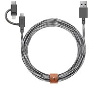 Native Union 3 In 1 Universal Belt Cable Black