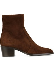 Jean Michel Cazabat 'Zoe' Ankle Boots Brown