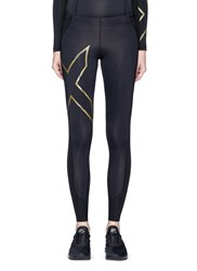 2Xu 'Mcs Cross Training Compression' Performance Tights Black