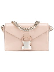 Christopher Kane Devine Shoulder Bag Pink And Purple